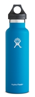 Hydro Flask - Stainless Steel Water Bottle Vacuum Insulated Standard Mouth Pacific - 21 oz.