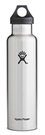 Hydro Flask - Stainless Steel Water Bottle Vacuum Insulated Standard Mouth Stainless - 24 oz.