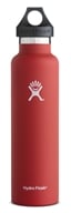 Hydro Flask - Stainless Steel Water Bottle Vacuum Insulated Standard Mouth Lava - 24 oz.