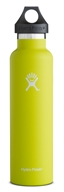 Hydro Flask - Stainless Steel Water Bottle Vacuum Insulated Standard Mouth Citron - 24 oz.