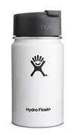 Hydro Flask - Stainless Steel Coffee Mug Vacuum Insulated White - 12 oz.