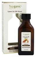 Topganic - Leave On Silk Serum Enriched with Brazilian Nut Oil - 3.38 oz.