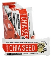 Nutraw - Nutrawbar Raw Organic Superfood Bars Box Chia Seed - 12 Bars