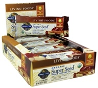 Garden of Life - Organic Super Seed Fiber Bars Box Apple Cinnamon - 12 Bars