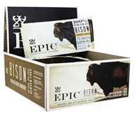 Epic - Bison Bars Box Bacon + Cranberry - 12 Bars