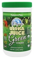 Nature's Plus - Organic Ultra Juice Green Powder - 1.32 lbs.