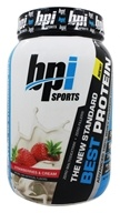 BPI Sports - Best Protein Advanced 100% Whey Protein Formula Strawberries & Cream - 2 lbs.