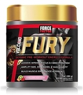 Force Factor - VolcaNO Fury Seismic Pre-Workout Energy Formula Strawberry Kiwi - 201 Grams