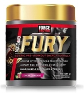 Force Factor - VolcaNO Fury Seismic Pre-Workout Energy Formula Cherry Lime - 201 Grams