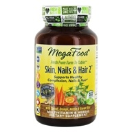 MegaFood - Skin, Nails and Hair 2 - 60 Tablet(s)