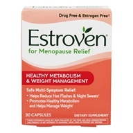 Estroven - Weight Management Multi-Symptom Menopause Relief - 30 Capsules