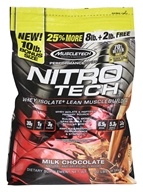 Muscletech Products - Nitro-Tech Performance Series Whey Isolate + Lean Musclebuilder Milk Chocolate - 10 lbs.