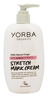 Yorba Organics - Stretch Mark Cream with Kigelia Extracts - 10 oz.
