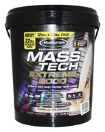 Muscletech Products - Mass Tech Extreme 2000 Vanilla Milkshake - 22 lbs.