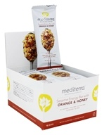 Mediterra - Sesame Energy Bars Box Orange & Honey - 12 Bars