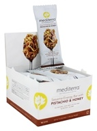 Mediterra - Sesame Energy Bars Box Pistachio & Honey - 12 Bars