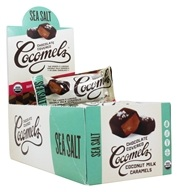 JJ's Sweets Cocomels - Dark Chocolate Covered Cocomels Sea Salt - 15 Pack(s)
