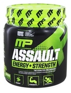 Muscle Pharm - Assault Sport Series Energy + Strength Green Apple - 12.17 oz.