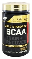 Optimum Nutrition - Gold Standard BCAA Train + Recover Fruit Punch - 9.9 oz.