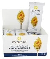 Mediterra - Yogurt & Oat Bars Box Apricot & Pistachio - 12 Bars