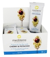 Mediterra - Yogurt & Oat Bars Box Cherry & Pistachio - 12 Bars
