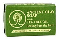 Zion Health - Ancient Clay Soap with Tea Tree Oil - 6 oz.