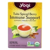 Yogi Tea - Organic Immune Support Tea Tulsi Spiced Berry - 16 ...