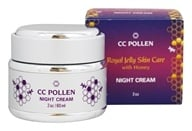CC Pollen - Royal Jelly Skin Care with Honey Night Cream - 2 oz.