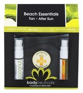Bodyceuticals - Beach Essentials Tan + After Sun Calendula + Spearmint - 3 Piece(s)