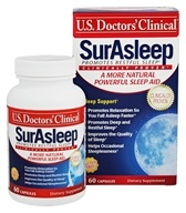 U.S. Doctors' Clinical - SurAsleep - 60 Capsules