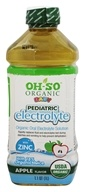 OH-SO - Organic Baby Pediatric Electrolyte Apple - 1.1 qt.