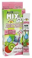 Lily Of The Desert - Mix n' Go Aloe Powdered Drink Mix Strawberry Kiwi - 5 Packet(s)