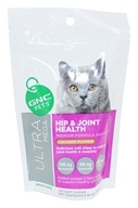 GNC Pets - Ultra Mega Hip & Joint Health For Adult Cats Yummy Chicken Flavor - 120 Soft Chews