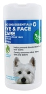GNC Pets - Eye & Face Care Wipes For Dogs - 50 Wipe(s)