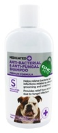 GNC Pets - Medicated Anti-Bacterial & Anti-Fungal Shampoo For Dogs Lavender Scent - 17 oz.