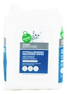 GNC Pets - Vitamin Enriched Hypoallergenic Grooming Wipes For Cats - 100 Wipe(s)