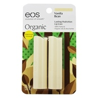 Eos Evolution of Smooth - Lip Balm Stick Vanilla Bean - 2 Pack