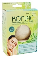 Relaxus - Konjac Natural Deep Cleansing Sponge - 1 Piece(s)