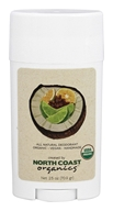 North Coast Organics - All Natural Organic Deodorant Coconut - 2.25 oz.