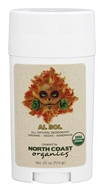 North Coast Organics - All Natural Organic Deodorant Al Sol - 2.5 oz.