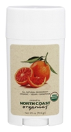 North Coast Organics - All Natural Organic Deodorant Blood Orange - 2.5 oz.