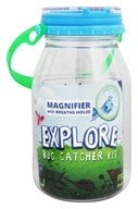 reCAP - Explore Kids Mason Jar Bug Catcher Kit Blue - 32 oz.