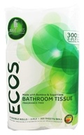 Earth Friendly - ECOS Bathroom Tissue 2-Ply 300 Sheets - 12 Roll(s)