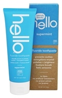 Hello Products - Fluoride Toothpaste Supermint - 5 oz.