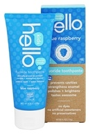 Hello Products - Kids Fluoride Toothpaste Blue Raspberry - 4.2 oz.