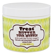 Treat Beauty - Butter Your Muffin Anti-Cellulite Body Cream - 4 oz.
