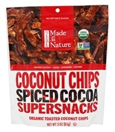Made in Nature - Coconut Chips Supersnacks Spiced Cocoa - 3 oz.