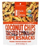 Made in Nature - Organic Toasted Coconut Chips Vietnamese Cinnamon Swirl - 3 oz.