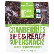Made in Nature - Organic Dried Fruit Cranberries - 5 oz.