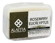 Alaffia - Shea Butter Dead Sea Spa Bar Soap Rosemary Eucalyptus - 3 oz.
